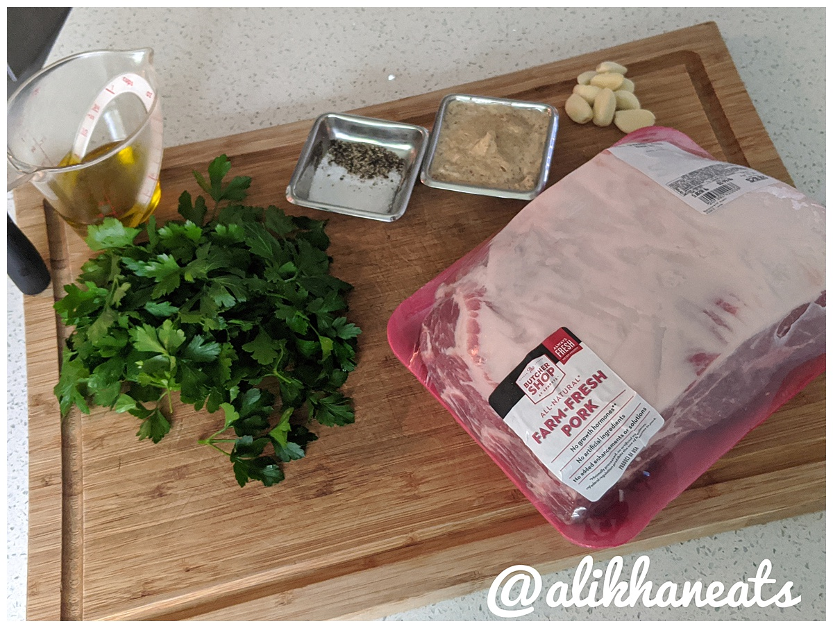 Slow roasted pork shoulder wet rub ingredients