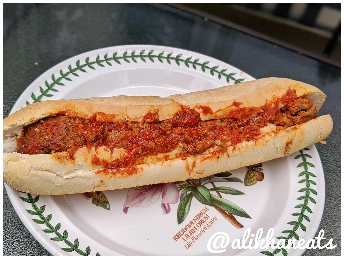Antonella's Italian Kitchen Meatball hoagie 1