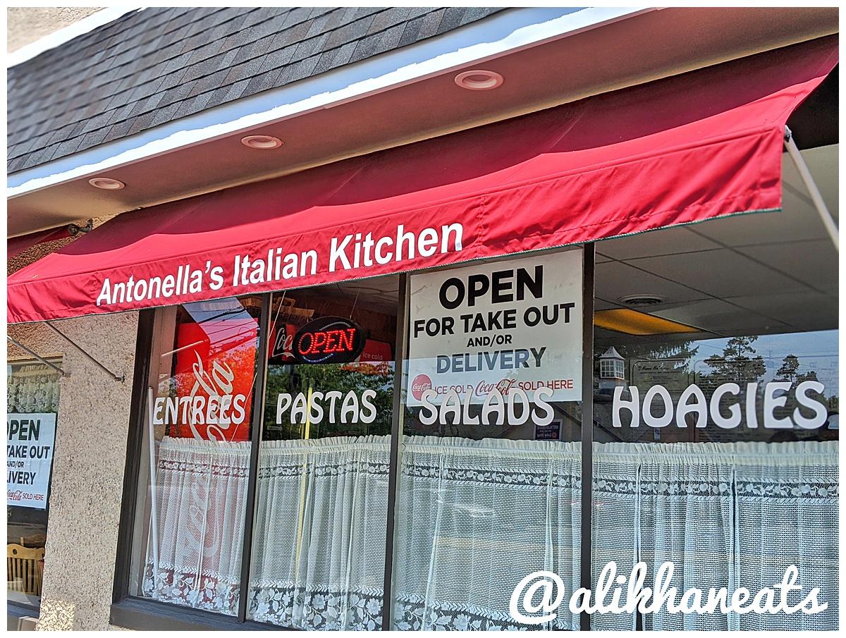 Antonella's Italian Kitchen sign