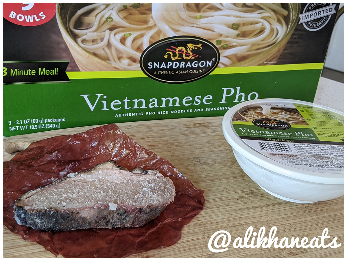 Brisket Pho ingredients