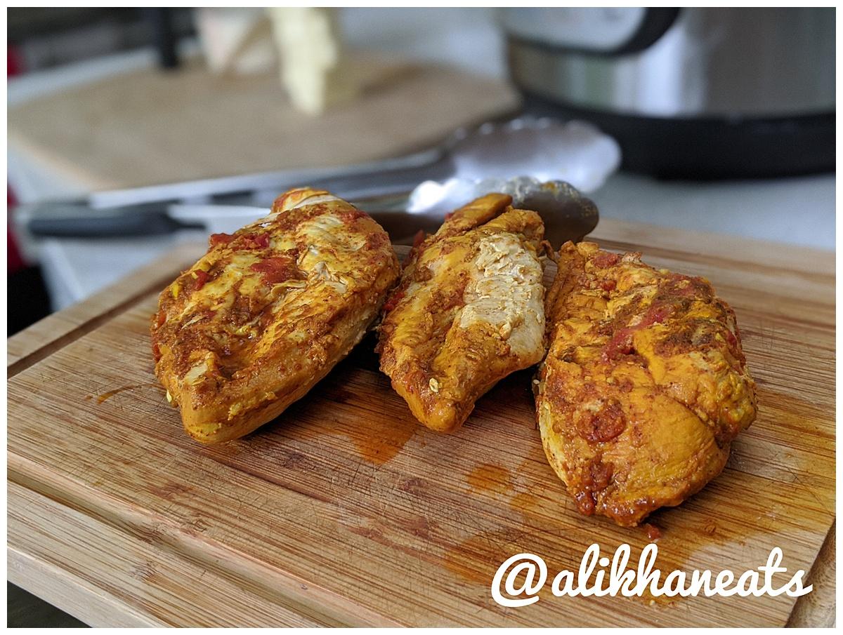 Butter Chicken recipe chicken finishes