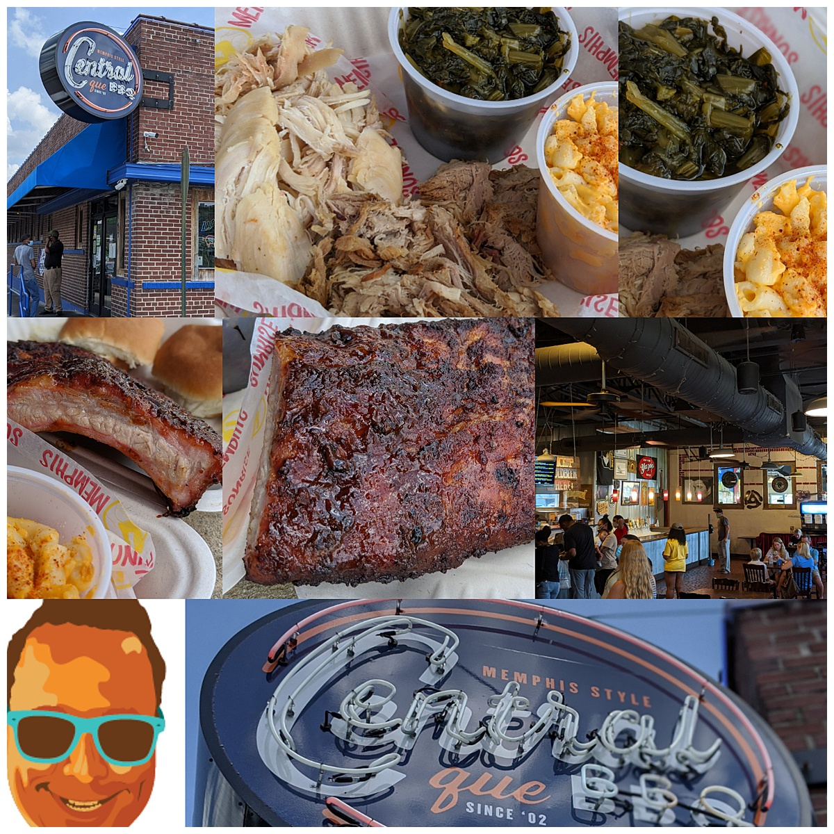 Central BBQ montage