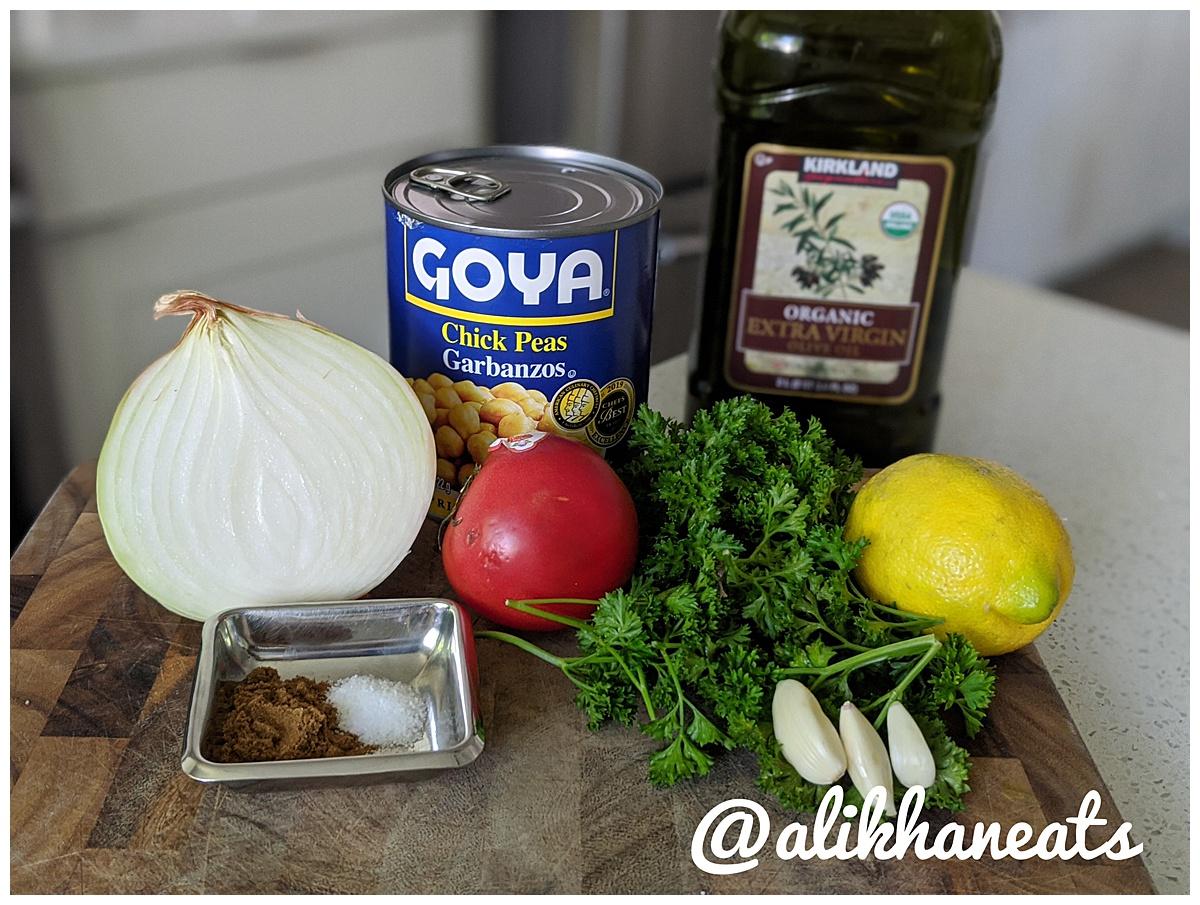 Eid Holiday Dinner Ful Medamas ingredients