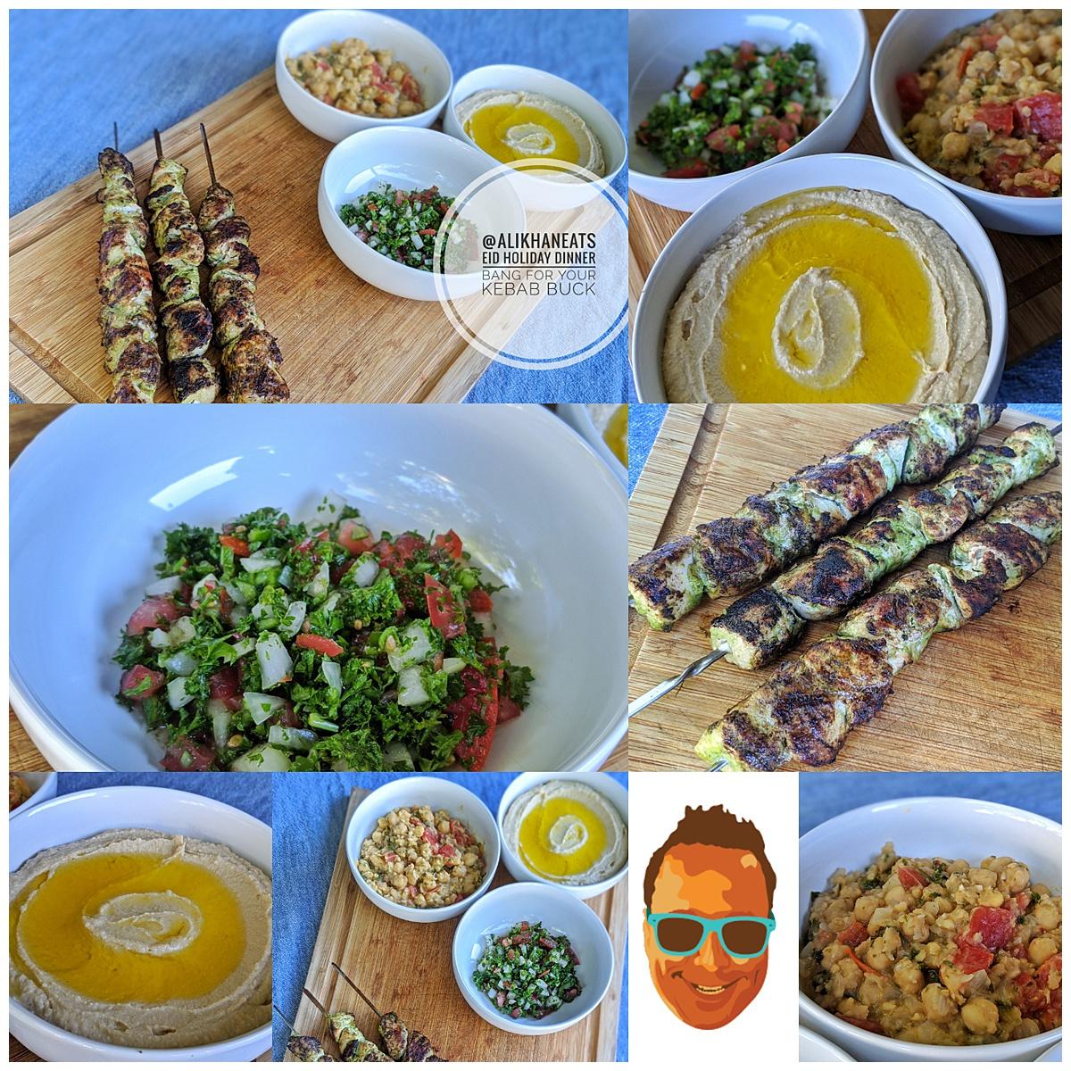 Eid Holiday Dinner Montage