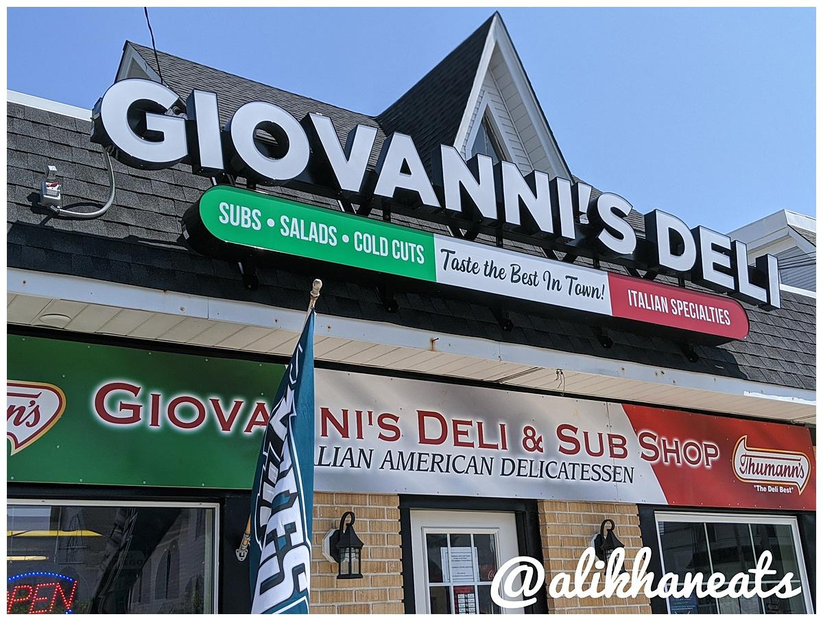 Giovanni's deli sign 1
