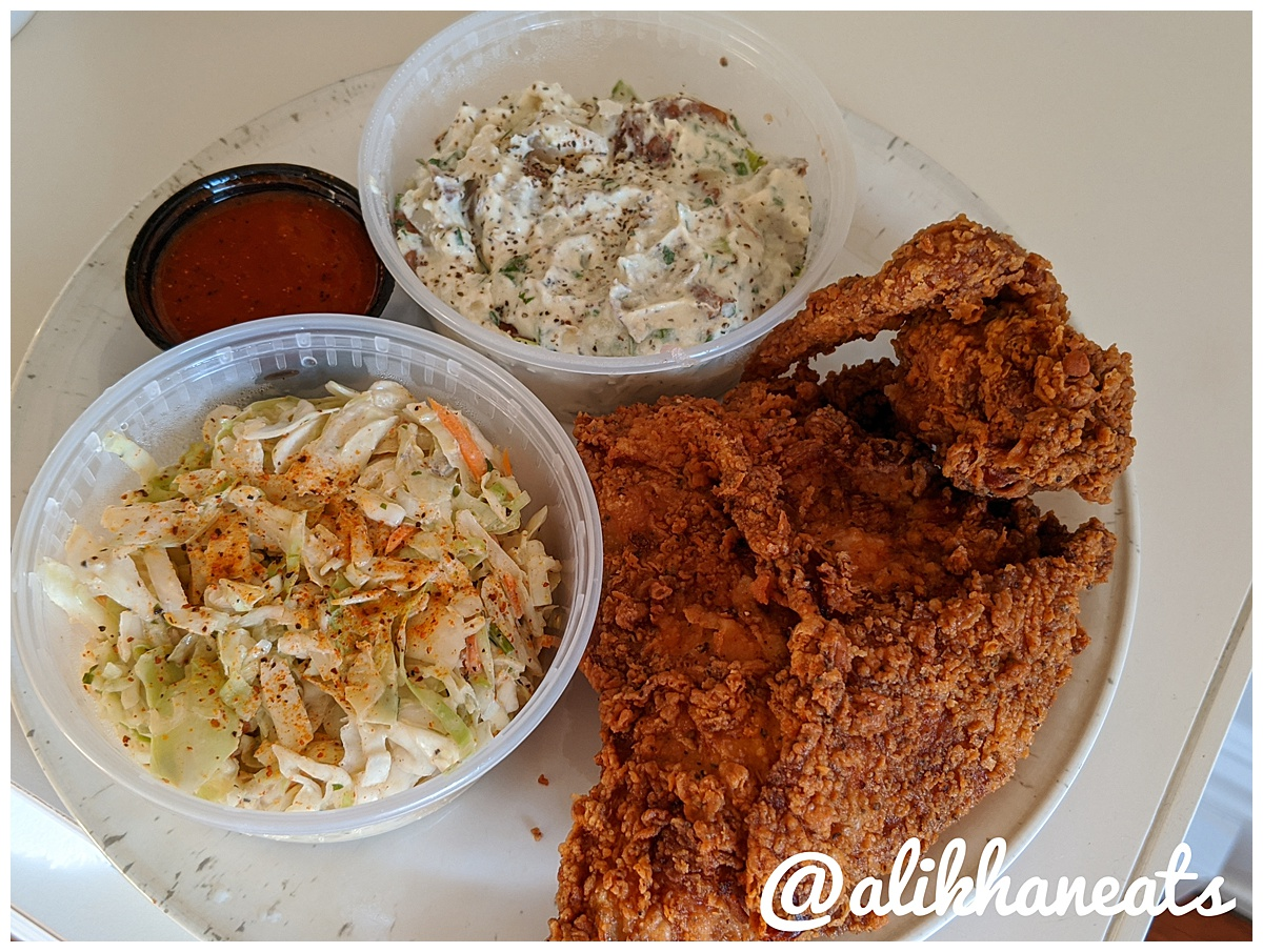 Hot Chick Fried Chicken plate 1