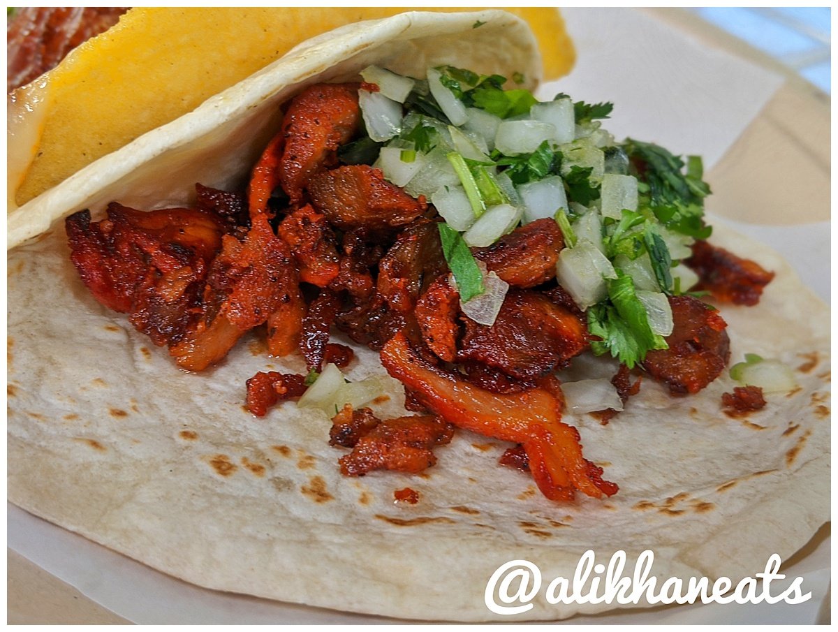 One Taco Taqueria Al Pastor taco