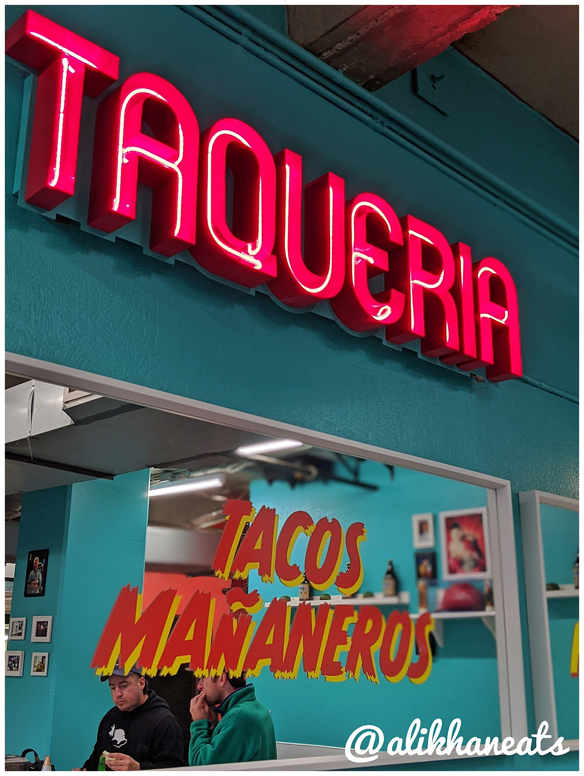 One Taco Taqueria sign