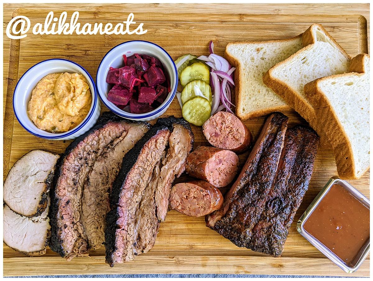 Plate of Micklethwait BBQ