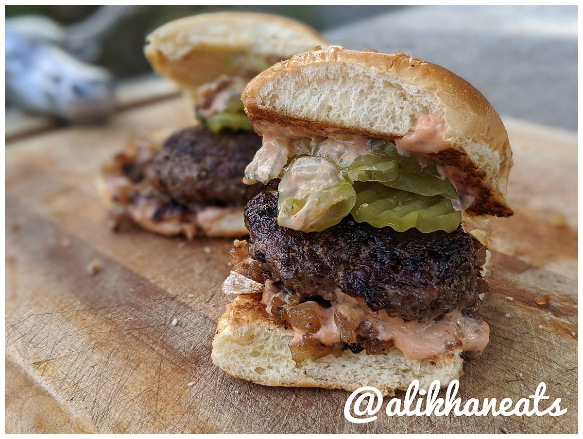 Slider Recipe burgers 2