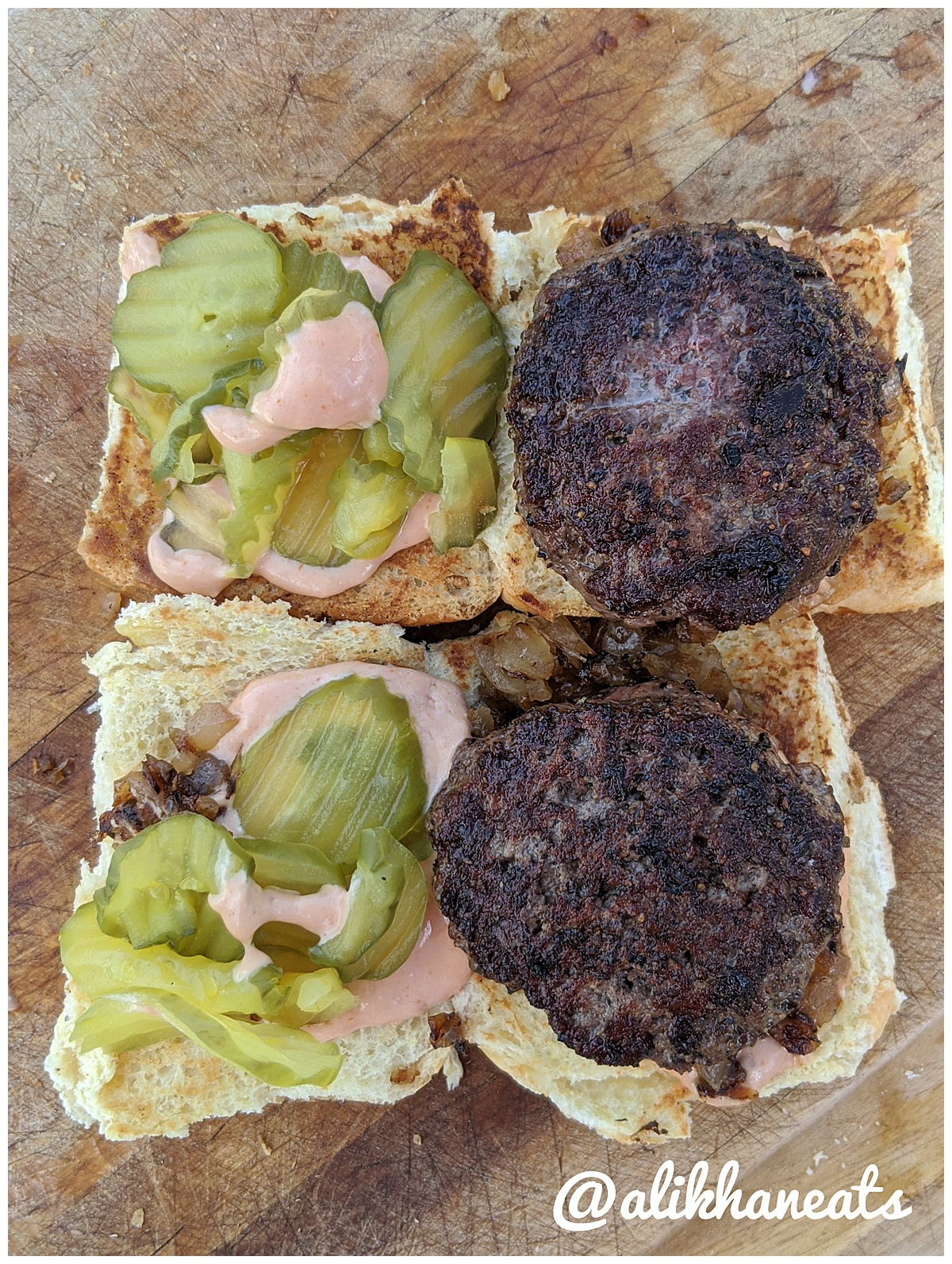 Slider Recipe burgers 5