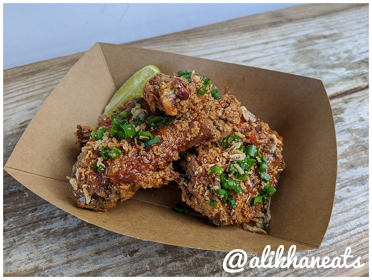Spicy Boys fried chicken two piece