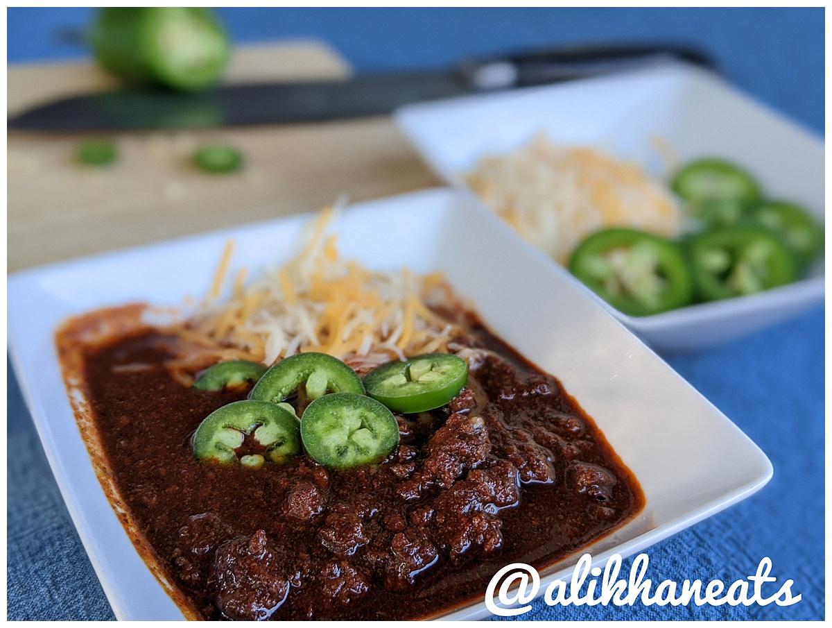 Texas Chili recipe bowl 5