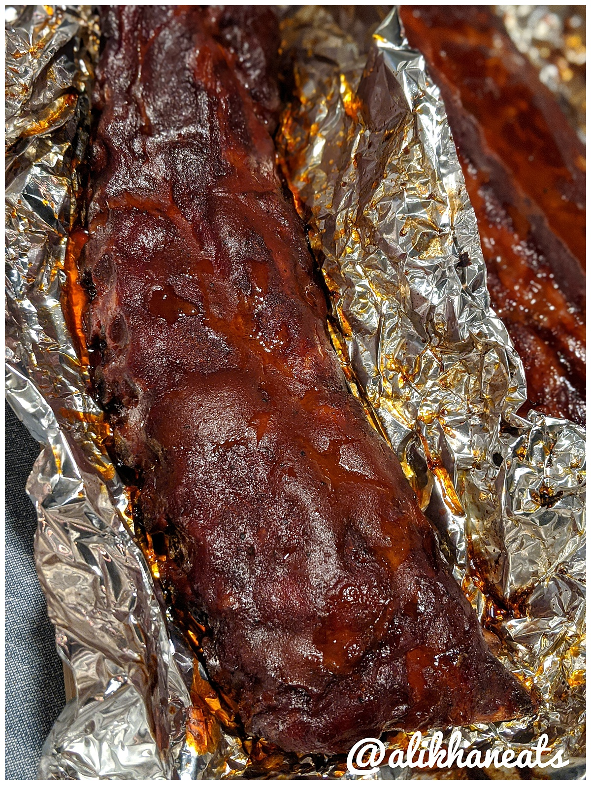 Traeger Baby Back Ribs Vol 2 sauced