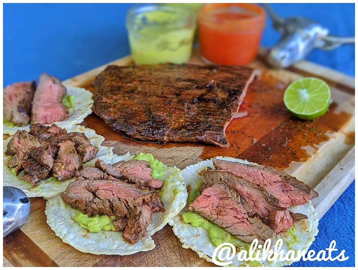 Ultimate Steak Taco recipe steak tacos close up