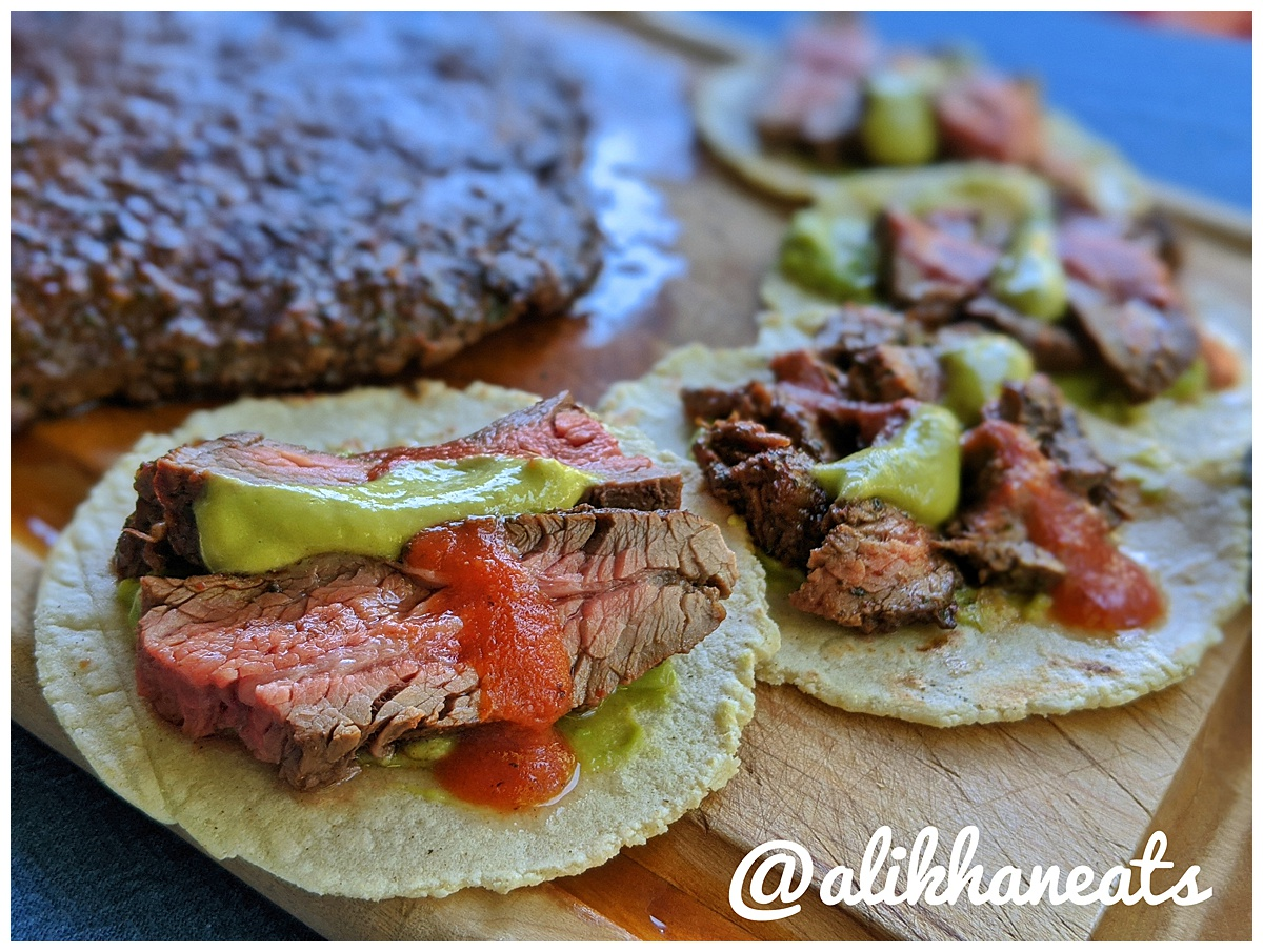 Ultimate Steak Taco recipe close up