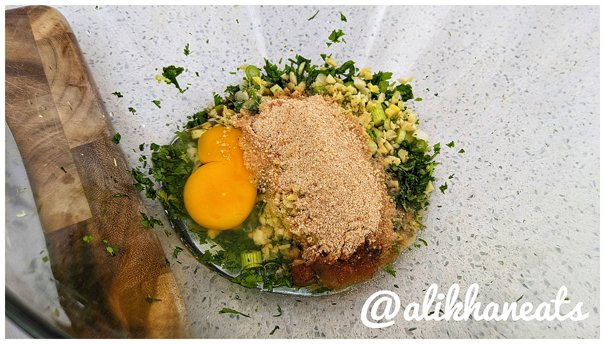 Vietnamese meatballs mix