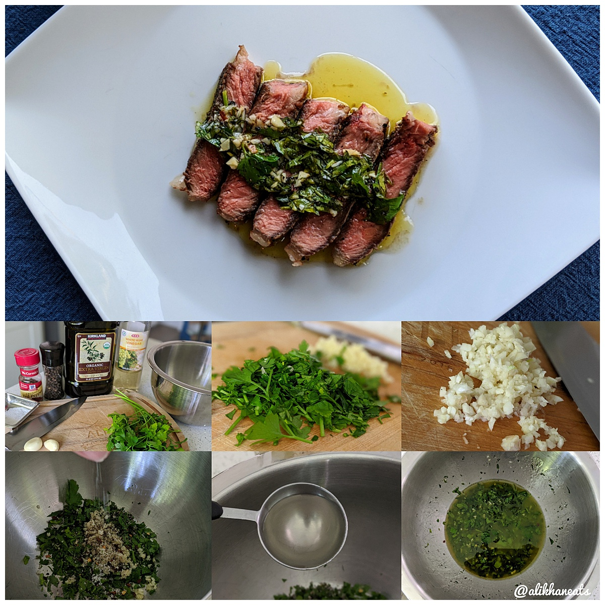 chimichurri recipe montage