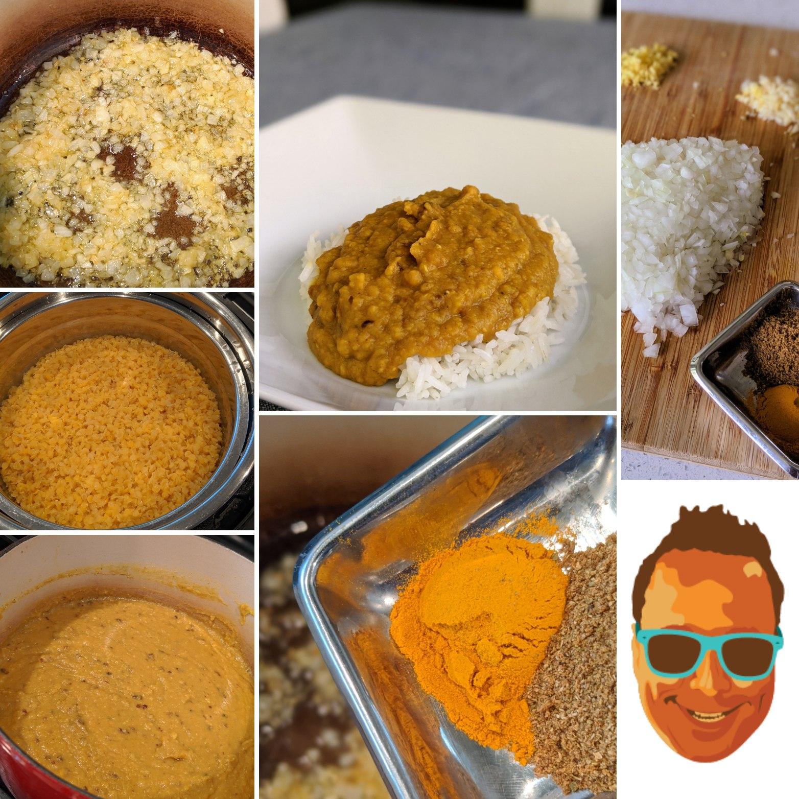 easy dal recipe montage