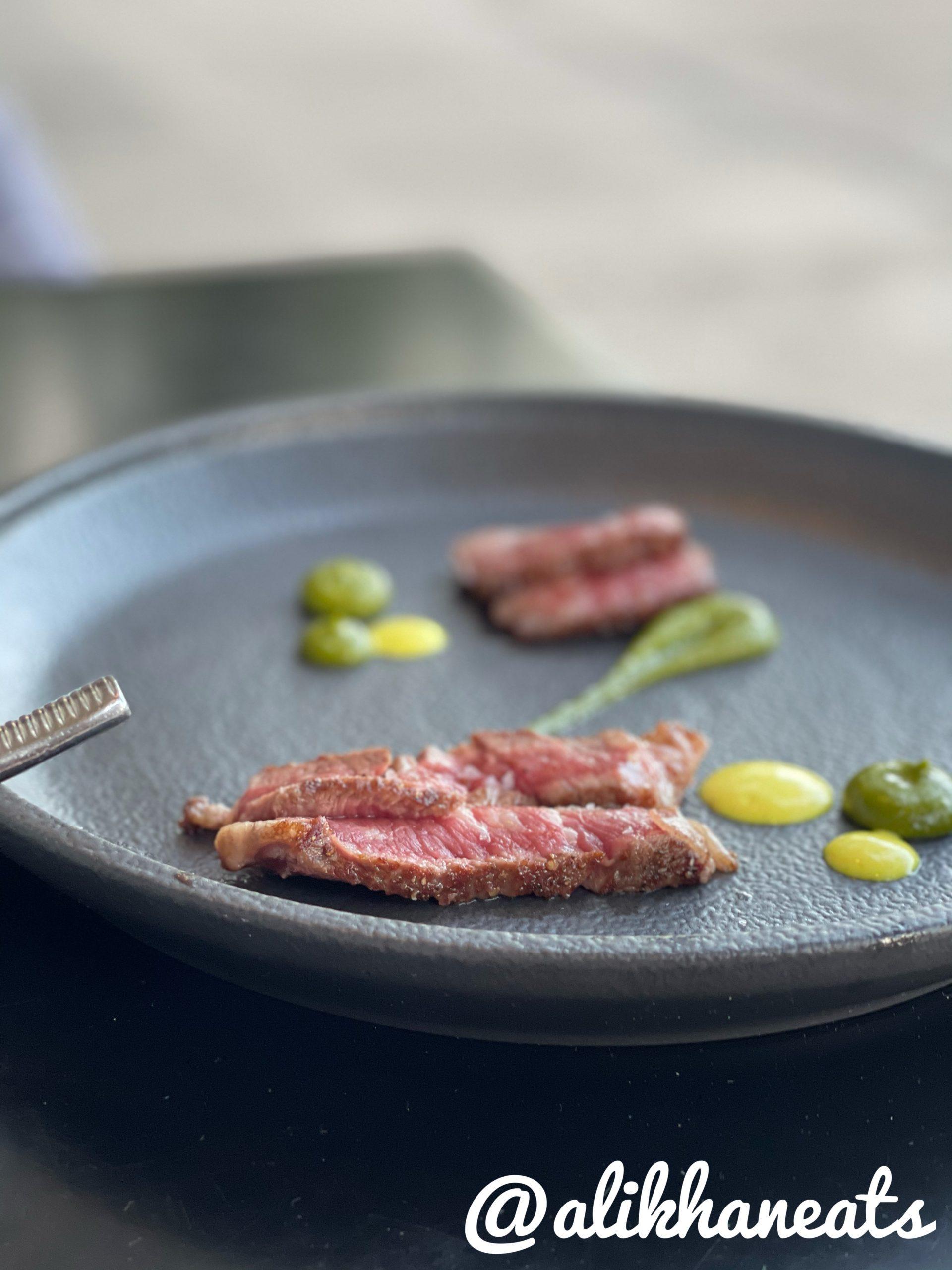 Il Ritorno A5 steak course