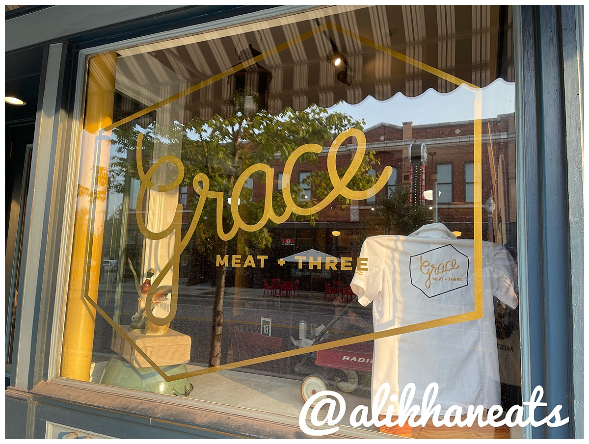 Grace Meat + Three sign