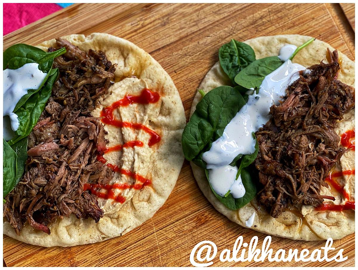 Smoked Lebanese Lamb Pita 1